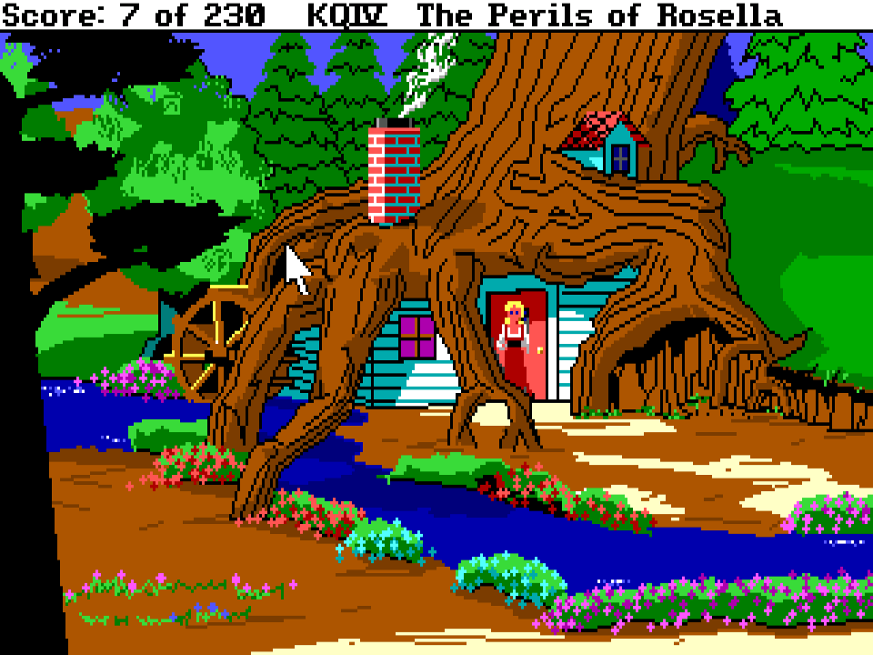 Sierra Classic Gaming – King's Quest IV: The Perils of Rosella  Rosella Kings Quest