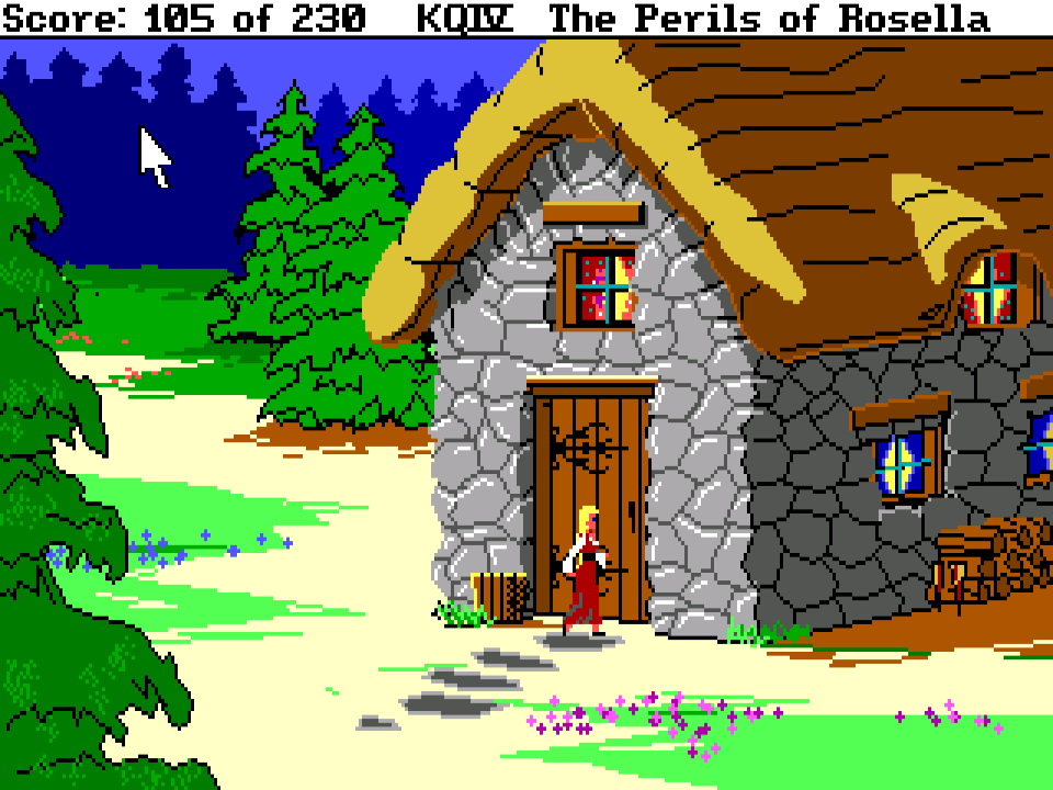 King's Quest IV: The Perils of Rosella – Sierra Classic Gaming  Rosella Kings Quest