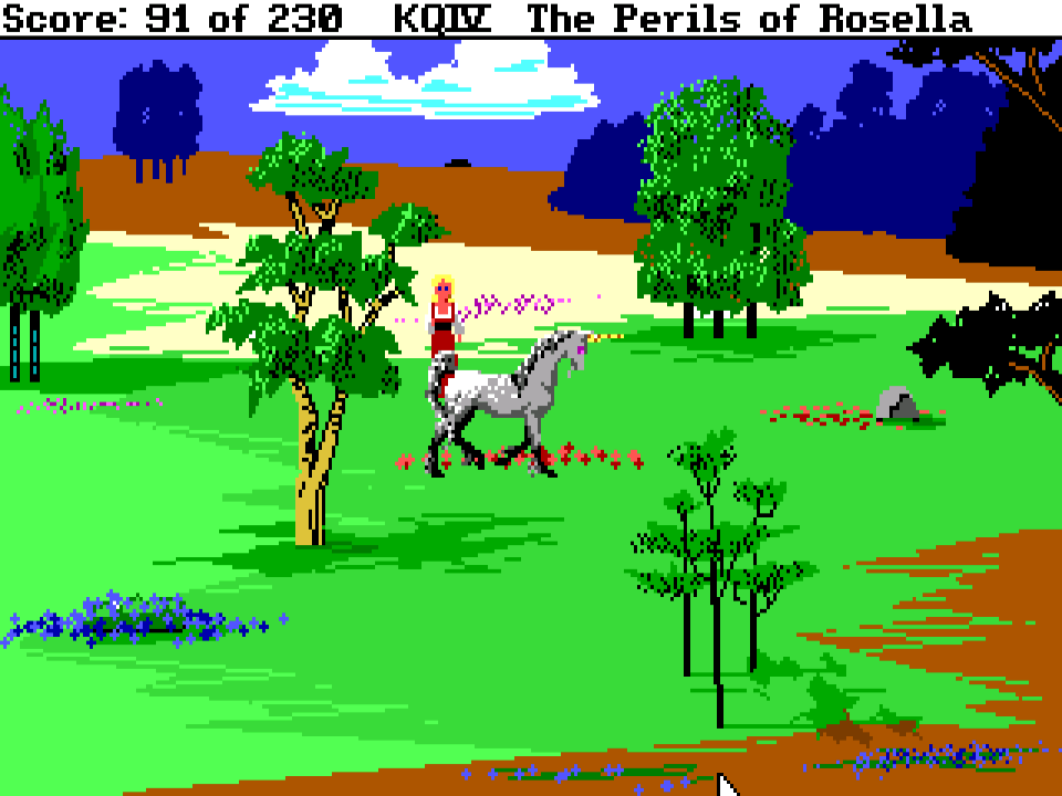 king�s quest iv the perils of rosella � sierra classic gaming