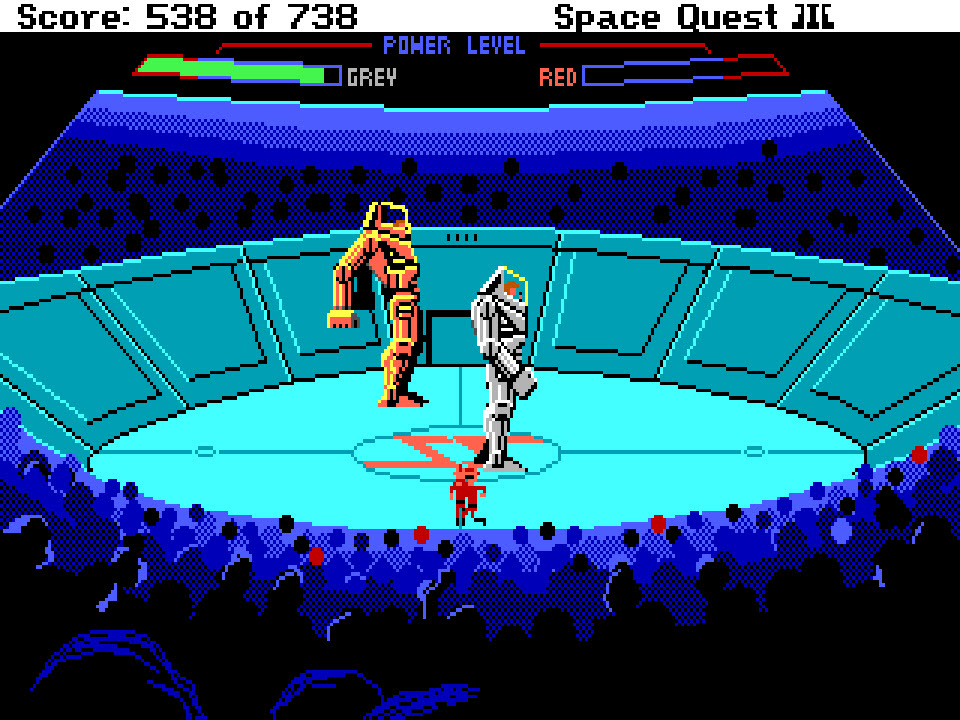 Space Quest 1 + 2 + 3 for Mac