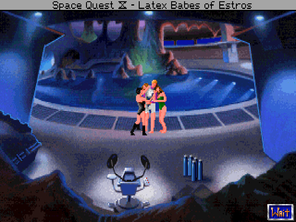 Space Quest 4 Roger Saves Latex Babes Sierra Classic Gaming